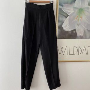 Vintage Silk High Waist Pants